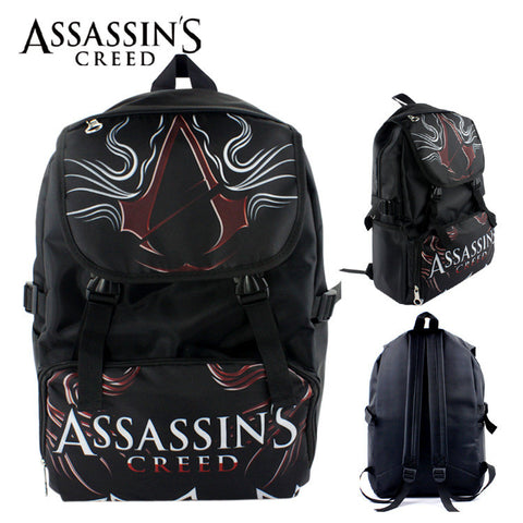 Assassin's Creed  Rogue Canvas Color Back Pack - icoshero