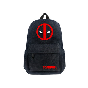 "Marvel Deadpool Canvas 17"" Backpack - icoshero"