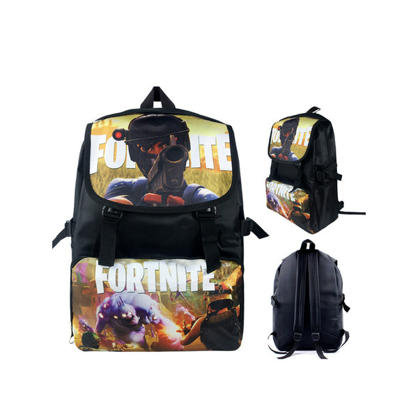 "Game Fortnite 17"" Canvas Bag Shoulder Backpack - icoshero"