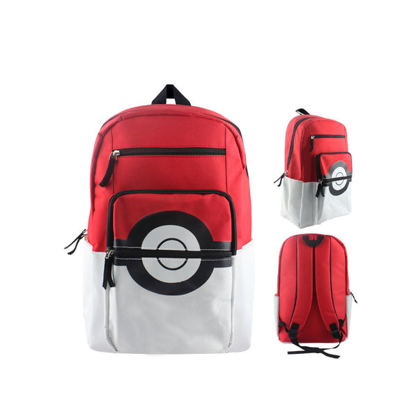 "Japanese Anime Pokemon Canvas 17"" Bag Backpack - icoshero"