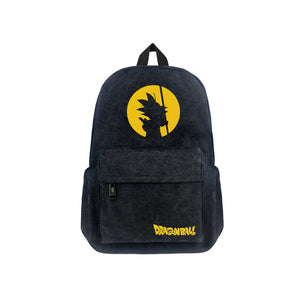 "Japanese Anime Dragon Ball Canvas 17"" Bag Backpack - icoshero"
