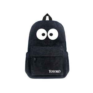 "Japanese Anime Totoro Canvas 17"" Bag Backpack - icoshero"