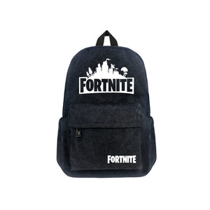 "Game Fortnite 17"" Canvas Bag Backpack - icoshero"