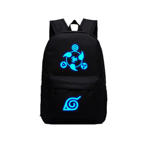 "Japanese Anime Naruto 17"" Limunous Backpack - icoshero"