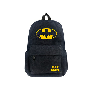 "DC Comics Batman Luminous 17"" Backpack - icoshero"