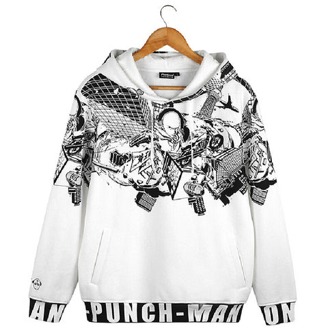 One Punch Man Comic Artwork Hoodie - icoshero