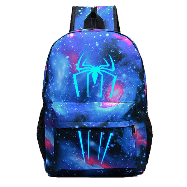 Marvel Comic Spiderman Luminous Computer Backpack 19X12'' - icoshero