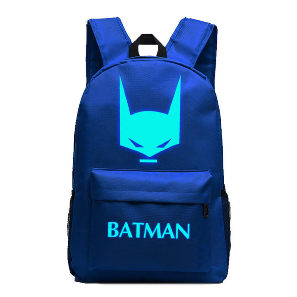 DC Comic The Batman Profile Luminous computer backpack 19X12'' - icoshero