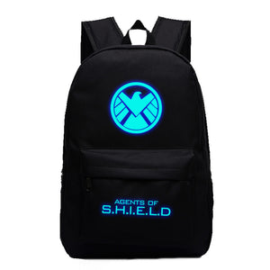 Marvel Comic The Agent of S.H.I.E.L.D Luminous computer backpack 19X12'' - icoshero