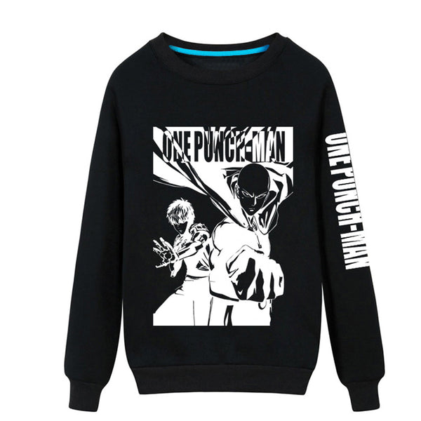 One Punch Man Saitama Comic Work Pullover Sweatshirt - icoshero