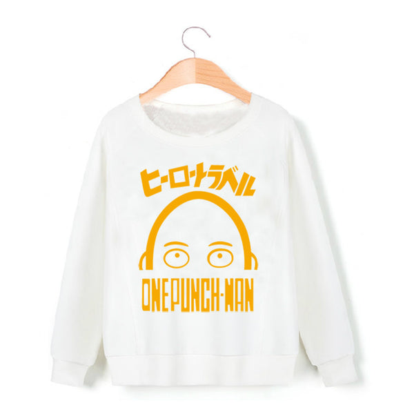 One Punch Man Logo Sweatshirt - icoshero