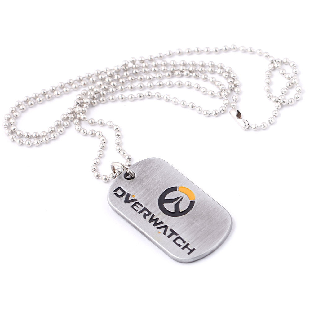Overwatch Logo and Symbol Collections Keyring Keychain Necklace - icoshero
