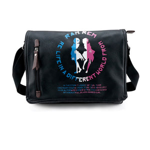 Re:Zero -Starting Life in Another World- Rem Ram Cosplay Shoulder Bag Messenger Bag - icoshero
