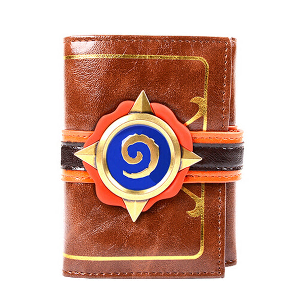 Hearth Stone Trifold Genuine Leather Wallet Card Holder - icoshero