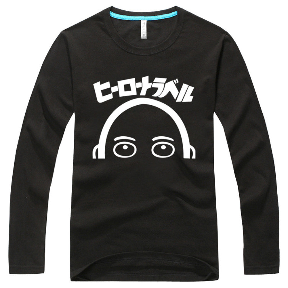 One Punch Man Long Sleeve Sweatshirt - icoshero
