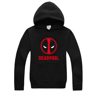 Marvel Mr. Deadpool Pullover Hooded Sweatshirt Fleece Hoody - icoshero