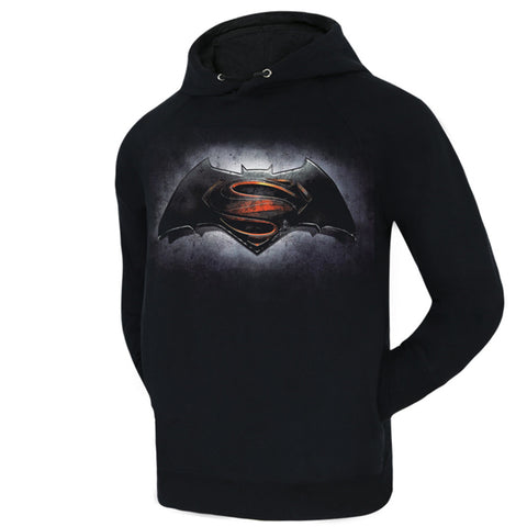 Batman V Superman Dawn of Justice Symbol Fleece Hooded Sweatshirt - icoshero