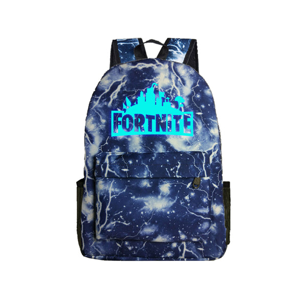 "Game Fortnite 17"" Canvas Luminous Bag Backpack - icoshero"