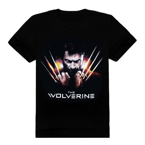 Marvel Comics Wolverine Printing Cotton Short Sleeve - icoshero