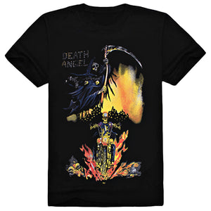 Sickle Death Angel Ghost Rider Short Sleeve T-Shirt - icoshero