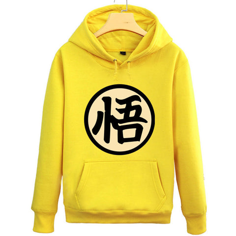 Anime Dragon Ball Fleece Pullover Hoodie - icoshero