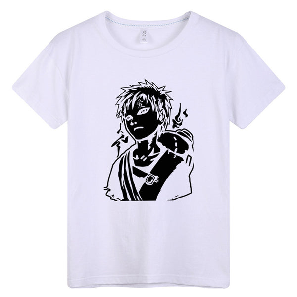 Anime Comics Naruto Gaara Short Sleeve T-Shirt - icoshero