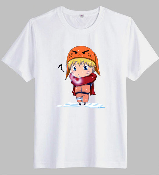 Anime Comics Naruto Funny Design Short Sleeve T-Shirt - icoshero