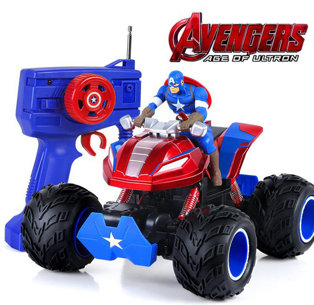 Avengers Captain America Dual Motor Off-Road Vehicle Remote Model - icoshero
