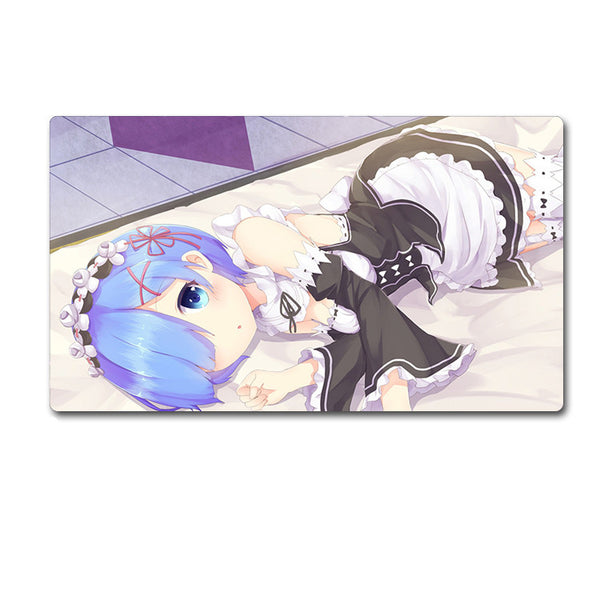 Re:Zero -Starting Life in Another World- Big Size Computer Mouse Pad Desk Mat Subaru Emilia Rem Ram - icoshero