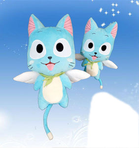 "Fairy Tail Happy Cute Soft Plush Toy Gift for Kids Birthday Present 11.8""/15.8"" - icoshero"