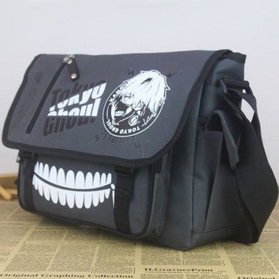 Tokyo Ghoul Kaneki Ken Oxford cloth Messenger Bag Shoulder Bag - icoshero