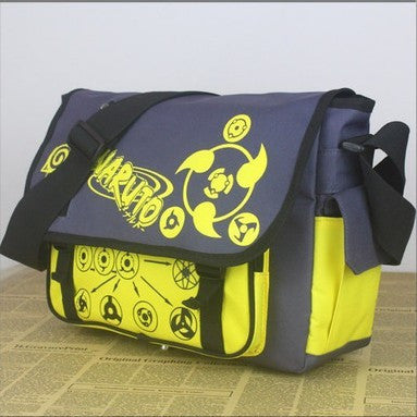Naruto Uchiha Sharingan Oxford cloth Messenger Bag Shoulder Bag - icoshero
