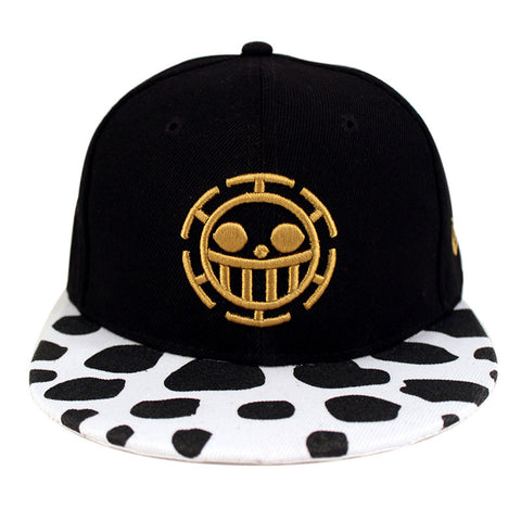 One Piece Trafalgar Law Cosplay Canvas Baseball Cap Autumn Winter Outdoor Sports Hat Cap - icoshero