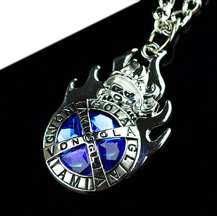 Katekyo Hitman Reborn Vongola Family Boss Ozora Alloy Imitated Gemstone Badge/Ring/Pendant Necklace - icoshero