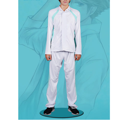 Haikyu!! Aoba Josai High School Volleyball Team Sports Coat&Pants Suit Oikawa Toru Cosplay Uniform - icoshero