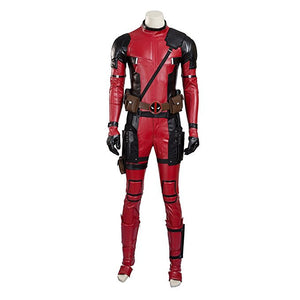 Men's Marvel Comics Antihero Deadpool Cosplay Suit Costume Set - icoshero