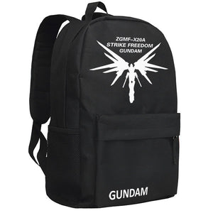 Mobile Suit Gundam Black Backpack Bag - icoshero