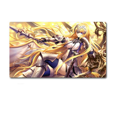 Fate/Grand Order Ruler Jeanne d'Arc Joan of Arc Big Size Mouse Pad Desk Mat - icoshero