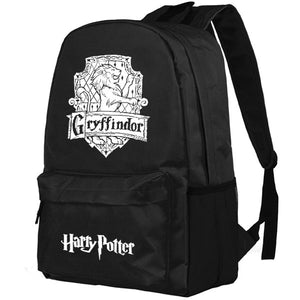 Harry Potter Hogwarts Gryffindor/Slytherin Mark Pattern Backpack Bag - icoshero