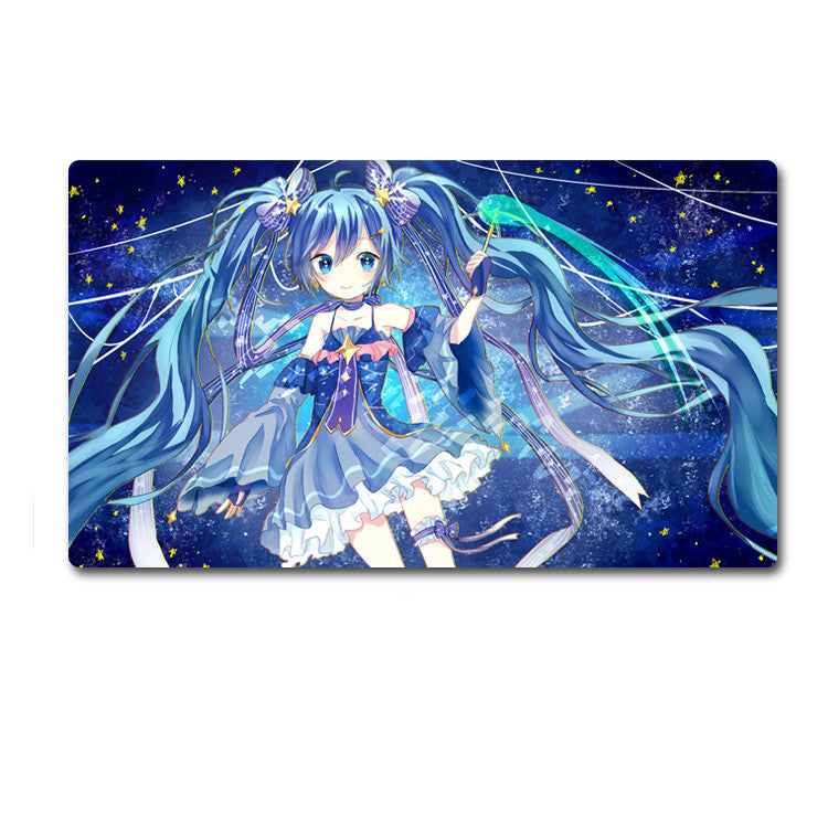 Hatsune Miku Snow Songs Big Size Mouse Pad Desk Mat - icoshero