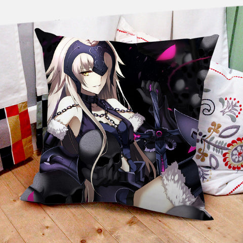 Fate/Grand Order Jeanne d'Arc (Alter) Square Pillow Cushion 40*40cm - icoshero