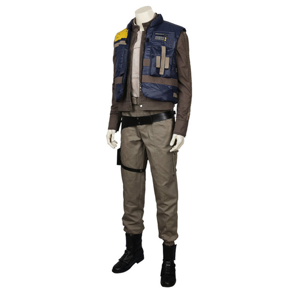 Rogue One: A Star Wars Story Male Protagonist Cassian Andor Cosplay Costume - icoshero