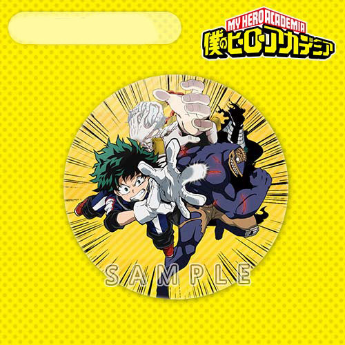 My Hero Academia Characters Printed Pattern Badge Bag Accessory Midoriya Izuku All Might Bakugou Katsuki - icoshero