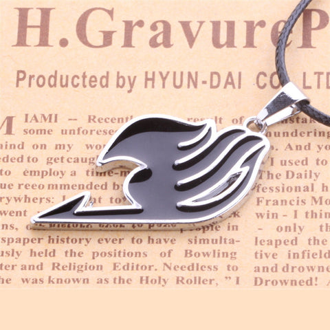 Fairy Tail Guild Mark zinc alloy Necklace Pendant Accessory - icoshero