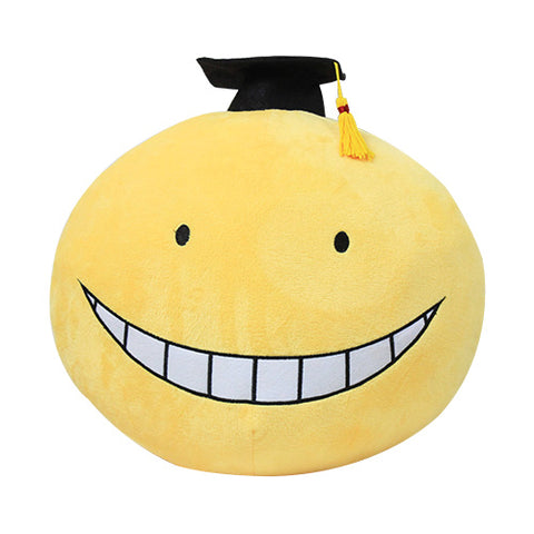Assassination Classroom Ansatsu Kyoushitsu Korosensei Round Face Cushion Pillow - icoshero
