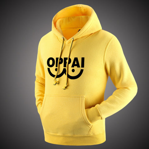 "One Punch Man ""Oppai"" Fleeced Hoodie - icoshero"