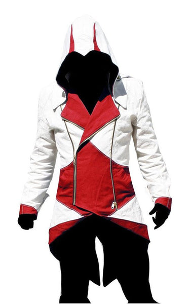 Assassin's Creed  III Connor Kenway Cosplay Hoodie Jacket - icoshero