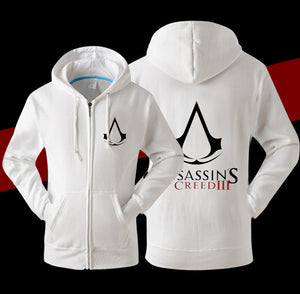 Assassin's Creed III Logo Fleece Hoodie - icoshero