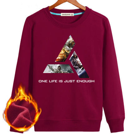 Assassin's Creed Triangle Fleeced Pullover Sweatshirt - icoshero