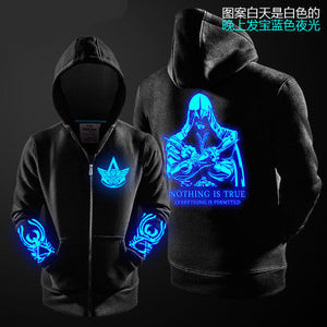 Assassin's Creed Luminous Fleece Lined Hoodie - icoshero